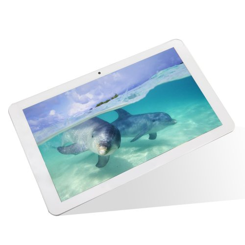 Dragon Touch M10X 10.1 inch Tablet Quad Core Google Android 4.4 KitKat, 1GB RAM, 16GB Nand Flash, IPS HD Screen 1366x768 Display, 5MP Camera with AutoFocus, Bluetooth, HDMI Output (Manufacturer Refurbished)