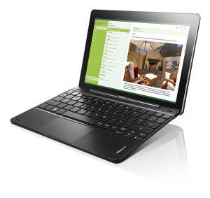 Lenovo Miix 300 10.1 inch Windows Tablet (80NR001WUS), RAM 2GB, 64GB Flash Storage, Intel Atom Z3735F 1.33GHz Quad Core, Microsoft Windows 10 1