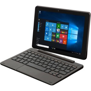 Nextbook Flexx 8.9 inch Flagship Black Edition Touchscreen 2 in 1 Tablet/Laptop With Keyboard Free Office Moblie (Intel Quad-Core Z3735F Processor, 1GB RAM, 32GB Storage, IPS Display, Microsoft Windows 10 Home)