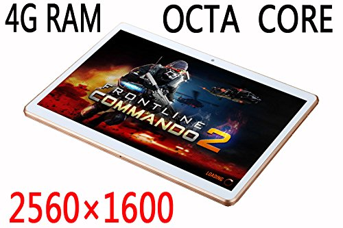 Bestenme 9.7 inch Tablet Octa Core 2560x1600 IPS, Bluetooth, 4GB RAM, 64GB Nand Flash, 8MP Rear Camera, Google Android 5.1 Lollipop, GPS, 3G Dual sim card Phone Call Tablets PC
