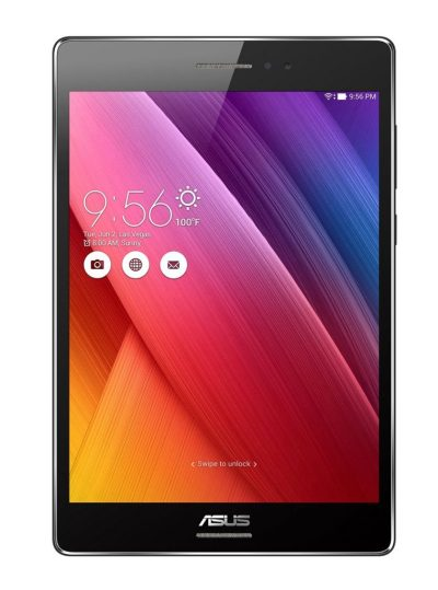 ASUS ZenPad S 8 Z580CA-C1-BK 8 inch 64GB SSD Android Tablet, IPS Display 2048x1536 with Corning Gorilla Glass3, RAM 4GB, Intel Atom Z3580 Super Quad-Core 64bit 2.3GHz, Google Android 5.0 Lollipop, Black