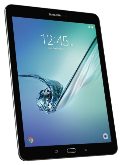 Samsung Galaxy Tab S2, 9.7 inch Tablet, SM-T813NZKEXAR, Octa-Core Qualcomm Snapdragon 652, RAM 3GB, 32GB Storage, Google Android 6.0 Marshmallow OS, Super AMOLED display screen, Samsung Smart Switch, Black