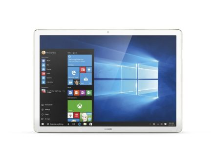Huawei MateBook W19 2-in-1 Tablet Laptop, 12 inch IPS display 2160x1440 resolution with 160 degree wide viewing angle, Intel Core m5, 8GB RAM, 512GB SSD Storage, Windows 10 Home, Champagne Gold