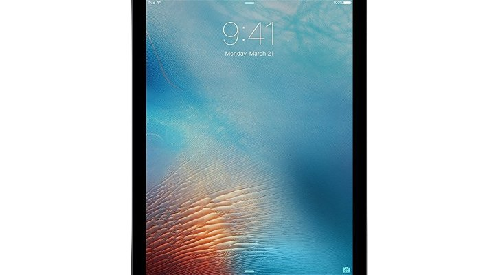 iPad Pro 9.7 inch, 128GB, Wi-Fi, Space Gray, 2016 Model (Certified Refurbished)