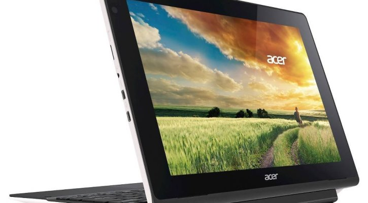 Acer Aspire Switch 10.1 inch 2 in 1 Tablet Laptop, 10.1 inch Touchscreen IPS LED Display (1280x800), Quad Core Intel Atom Z3735F Processor, 32GB SSD, 2GB RAM, HDMI, Bluetooth, Windows 10-White
