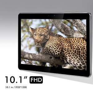 Popwinds 10.1-inch 32GB Octa Core Android Tablet, Full HD Display IPS 1920x1200, 2GB RAM, Wi-Fi, Bluetooth, Dual Camera, Touchscreen, Android 5.1 with Case and Stylus M1029