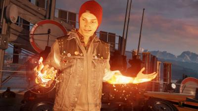 Infamous Second Son For Playstation 4 Gamestop