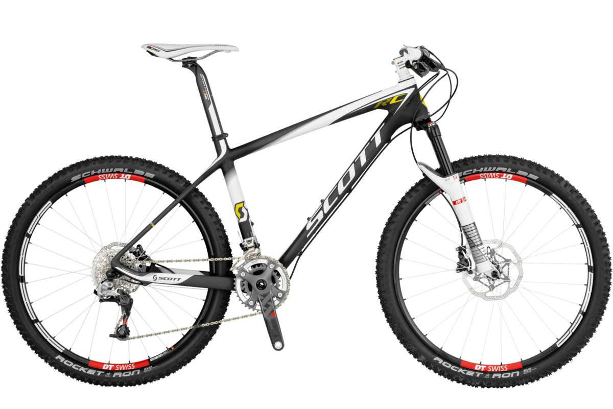 The SCOTT athletes raced the SCOTT Scale RC which was