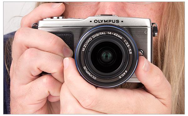 Olympus E-P1 Digital Camera