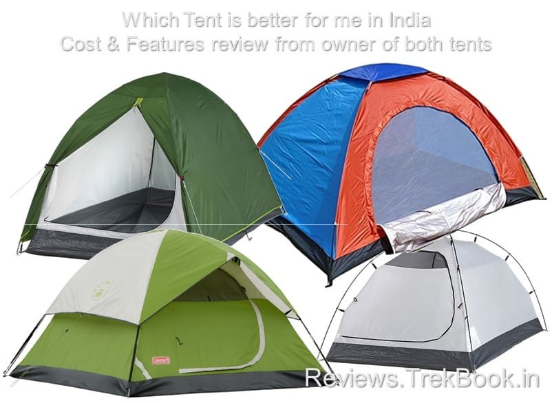 Which tent best for me in India, features & cost based selection guide