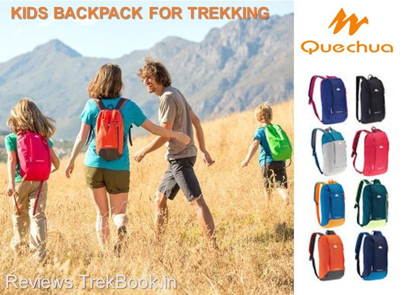 Kids Best Backpack for Trekking in India