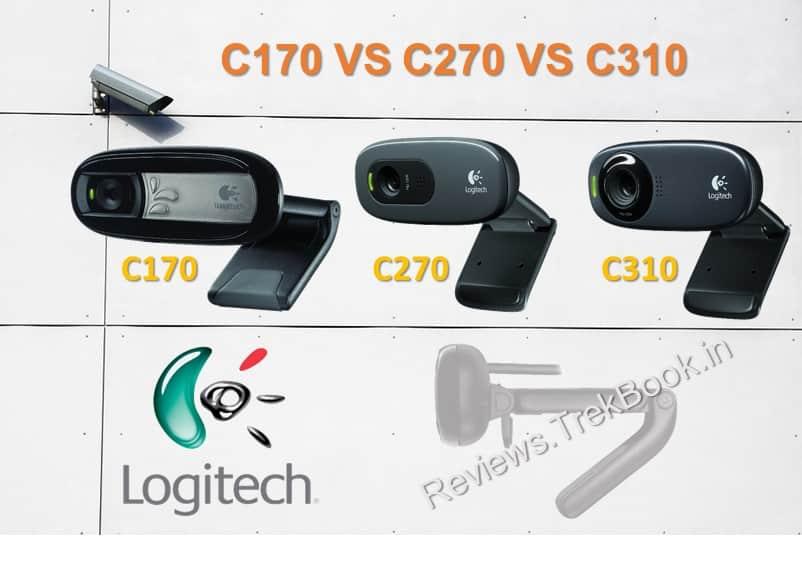 Logitech C170 vs C270 vs C310 HD Webcam Compare