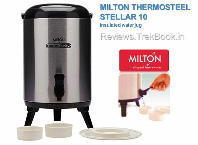 Milton Thermosteel Stellar 10 - Insulated Water Jug