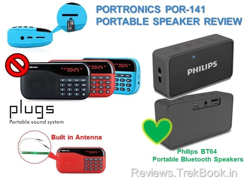 Portronics POR-141 vs philips bt64 Review
