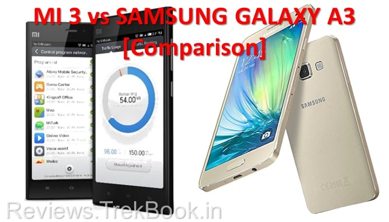 MI 3 vs Samsung Galaxy A3 [MI A3 Specs, Price Update]