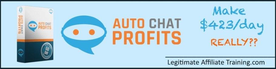 Best Auto Chat Profits Review 2019 9
