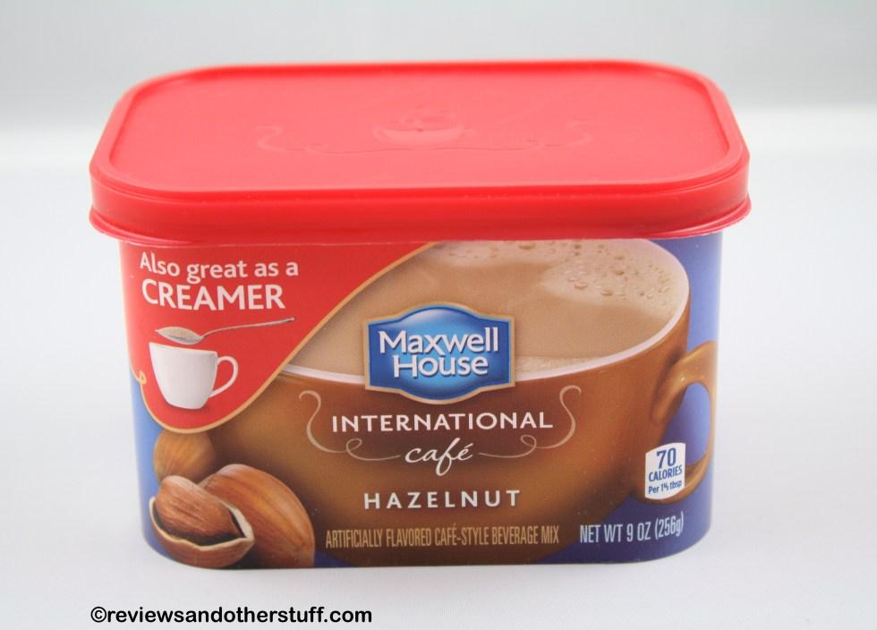 Maxwell House International Cafe Hazelnut Flavor