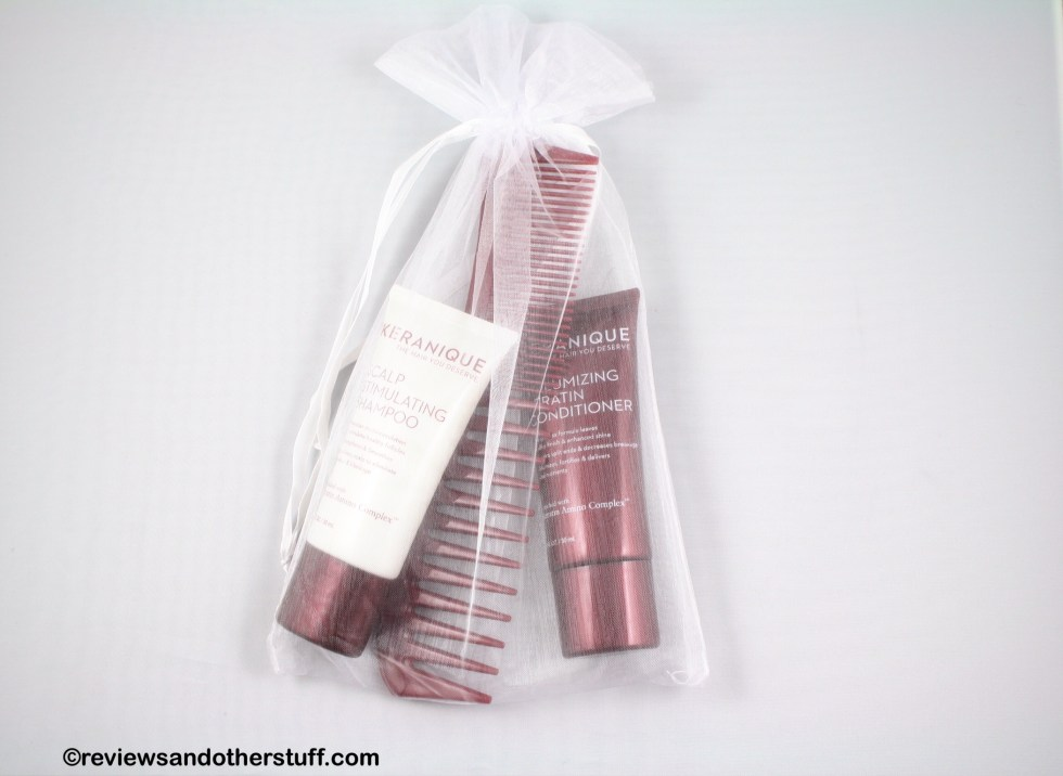 Keranique Comb Shampoo Conditioner