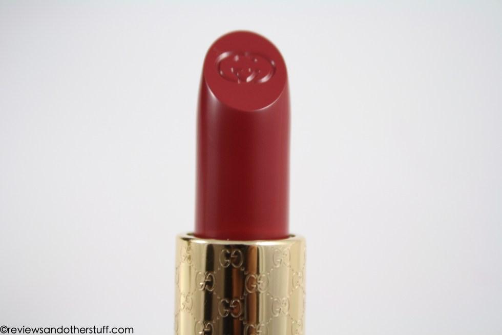 gucci moisture rich lipstick bourdoir color review