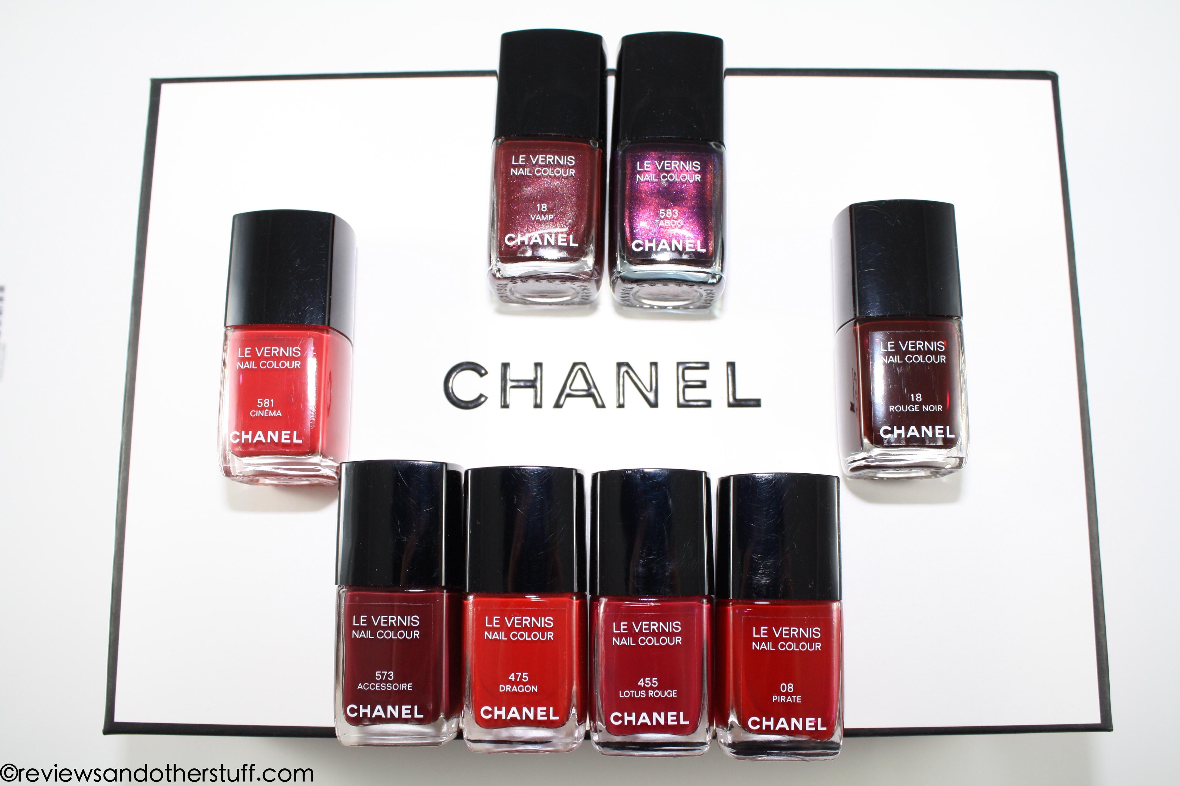 The Chanel Le Vernis Nail Colour Review Part 1. -