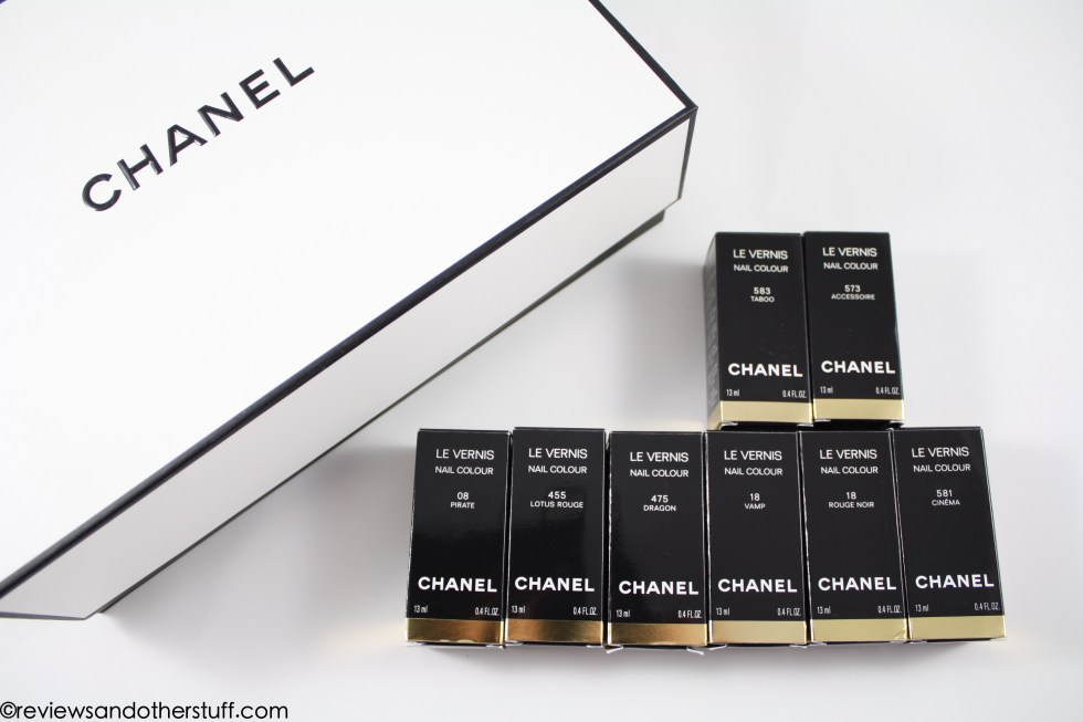 chanel le vernis collection