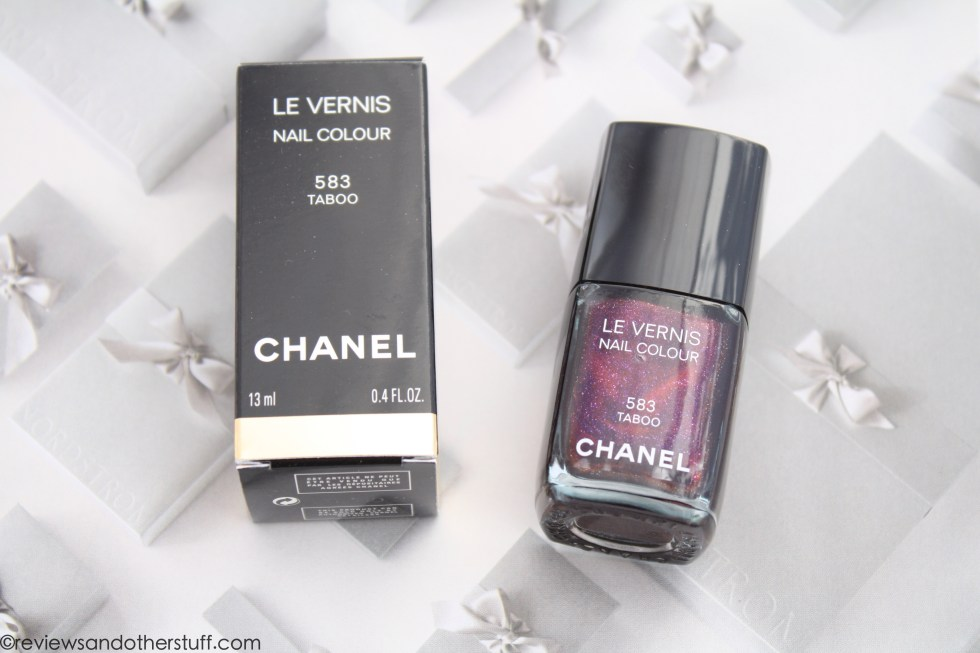 chanel nail polish taboo
