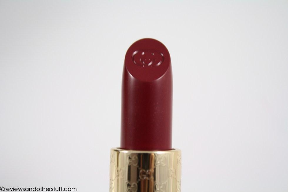 gucci moisture rich lipstick in purpurite review