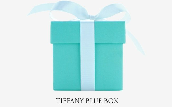 the tiffany and co signature blue box
