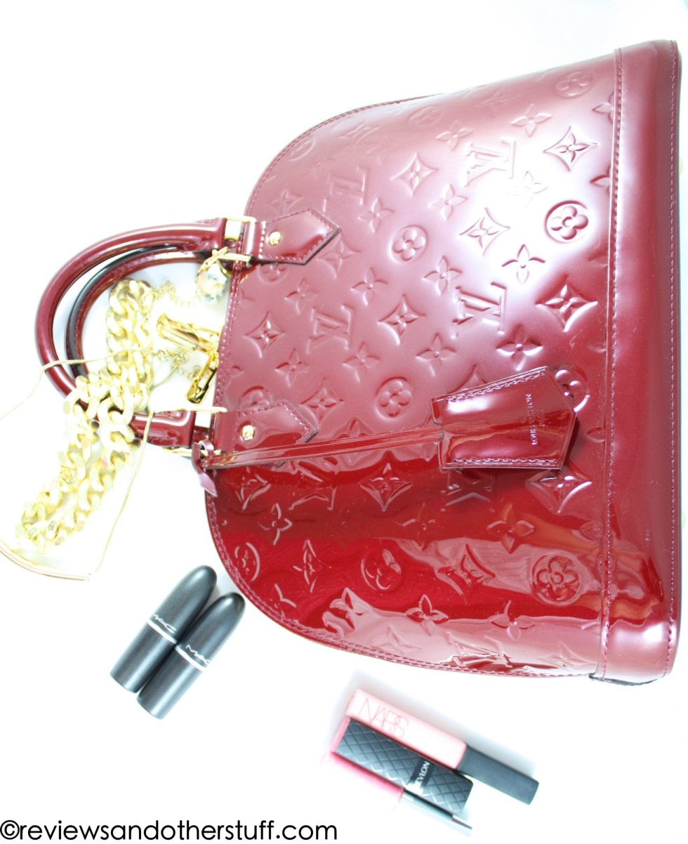 louis vuitton alma pm monogram vernis leather