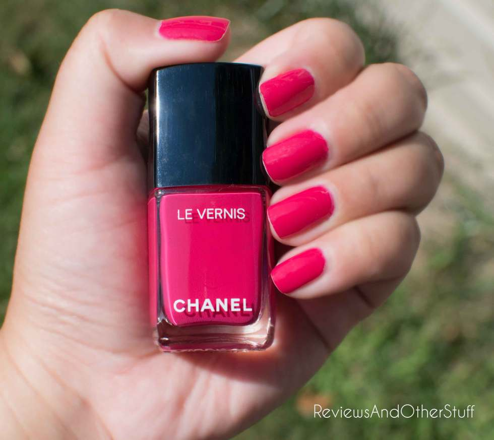 chanel new le vernis camilia