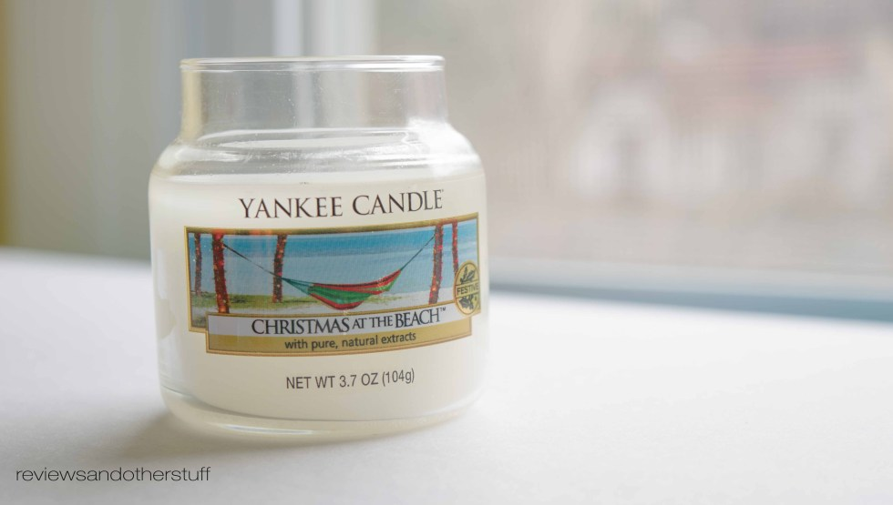 yankee candle christmas at the beach