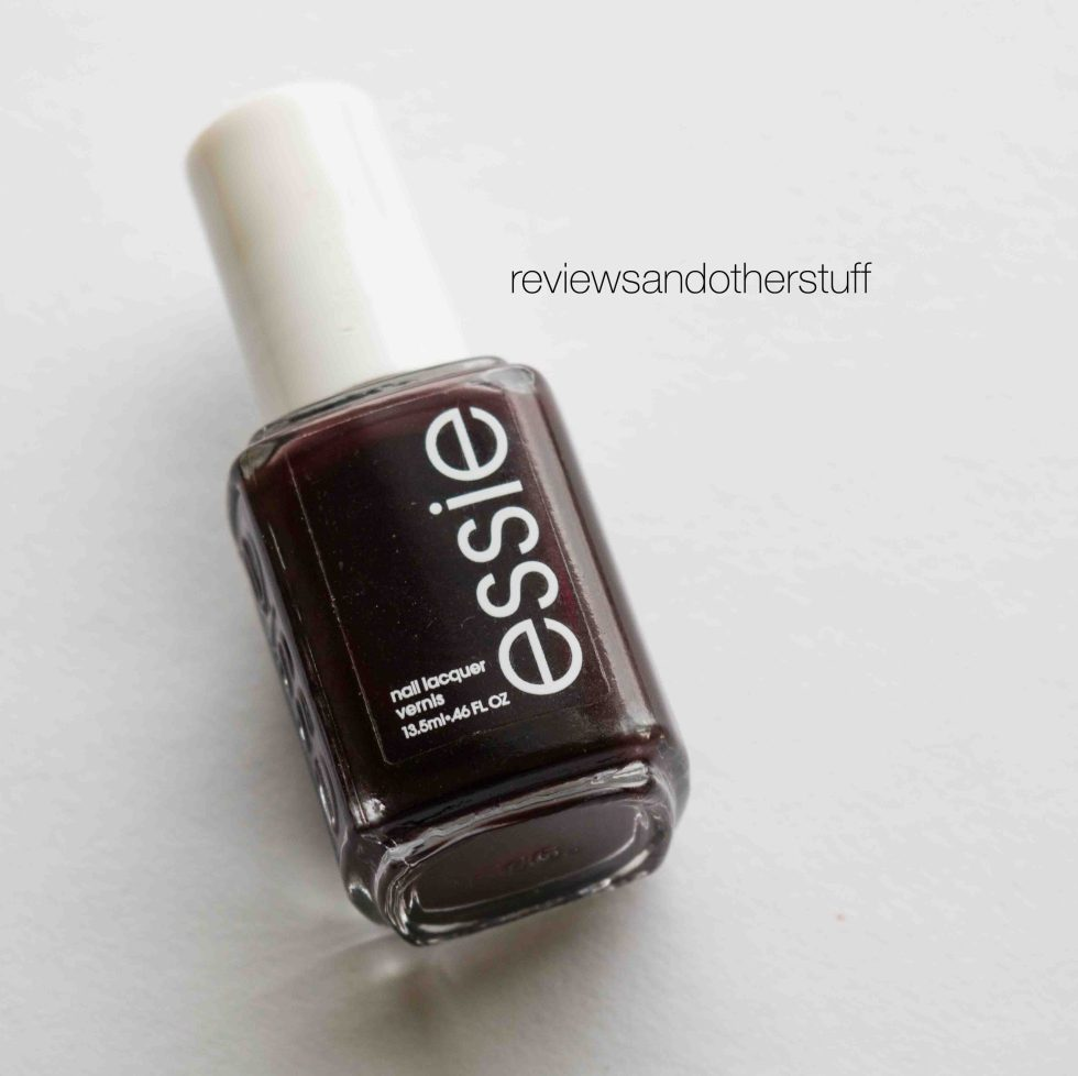 essie nail color review wicked