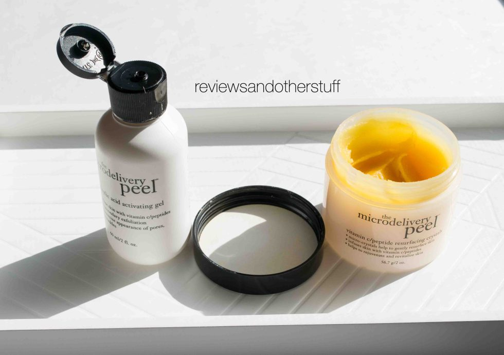 the microdelivery peel review