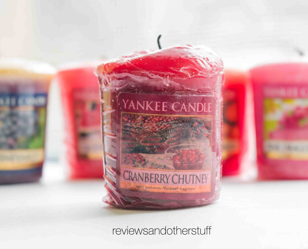yankee candle cranberry chutney review