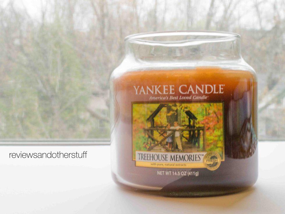 yankee candle tree house memories