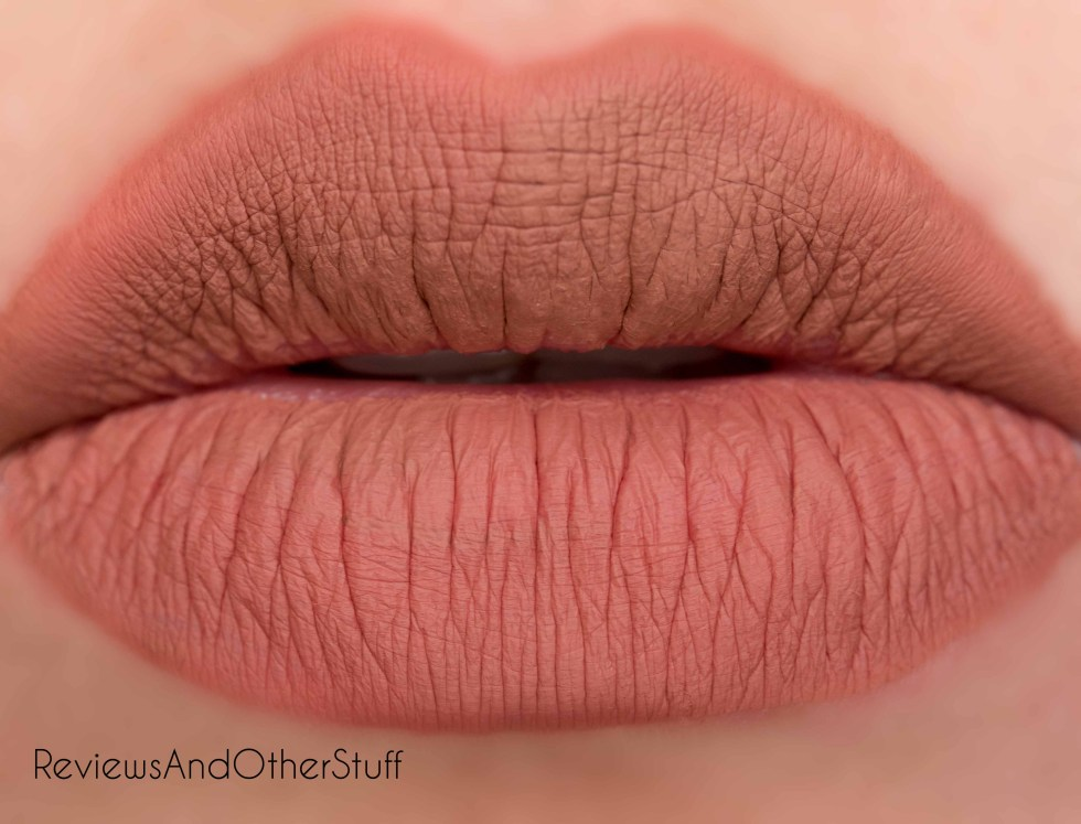 anastasia liquid lipstick in ashton