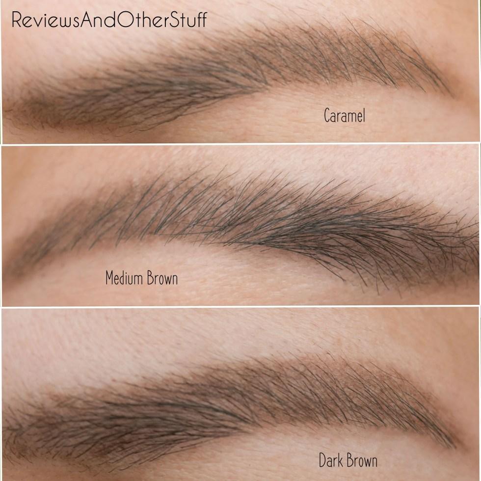 anastasia brow definer eyebrow swatch