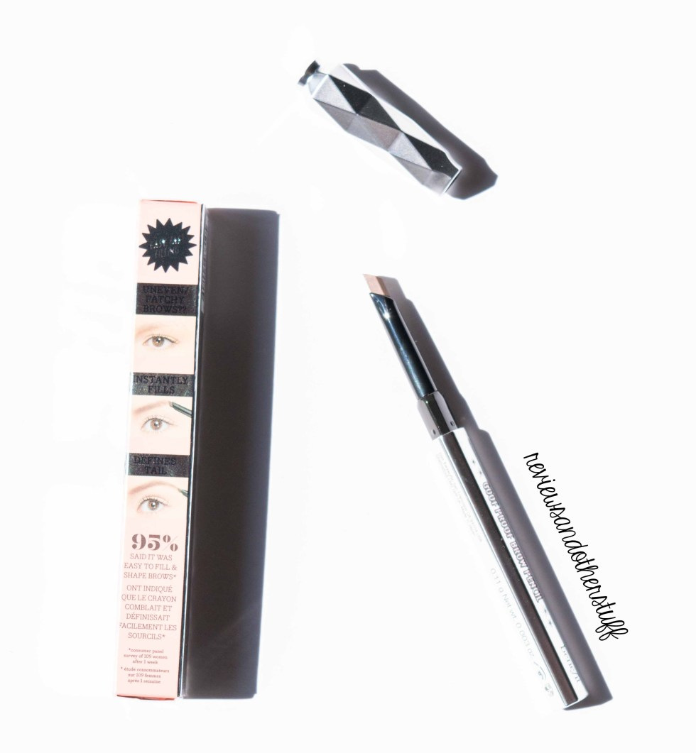 benefit eyebrow pencil review