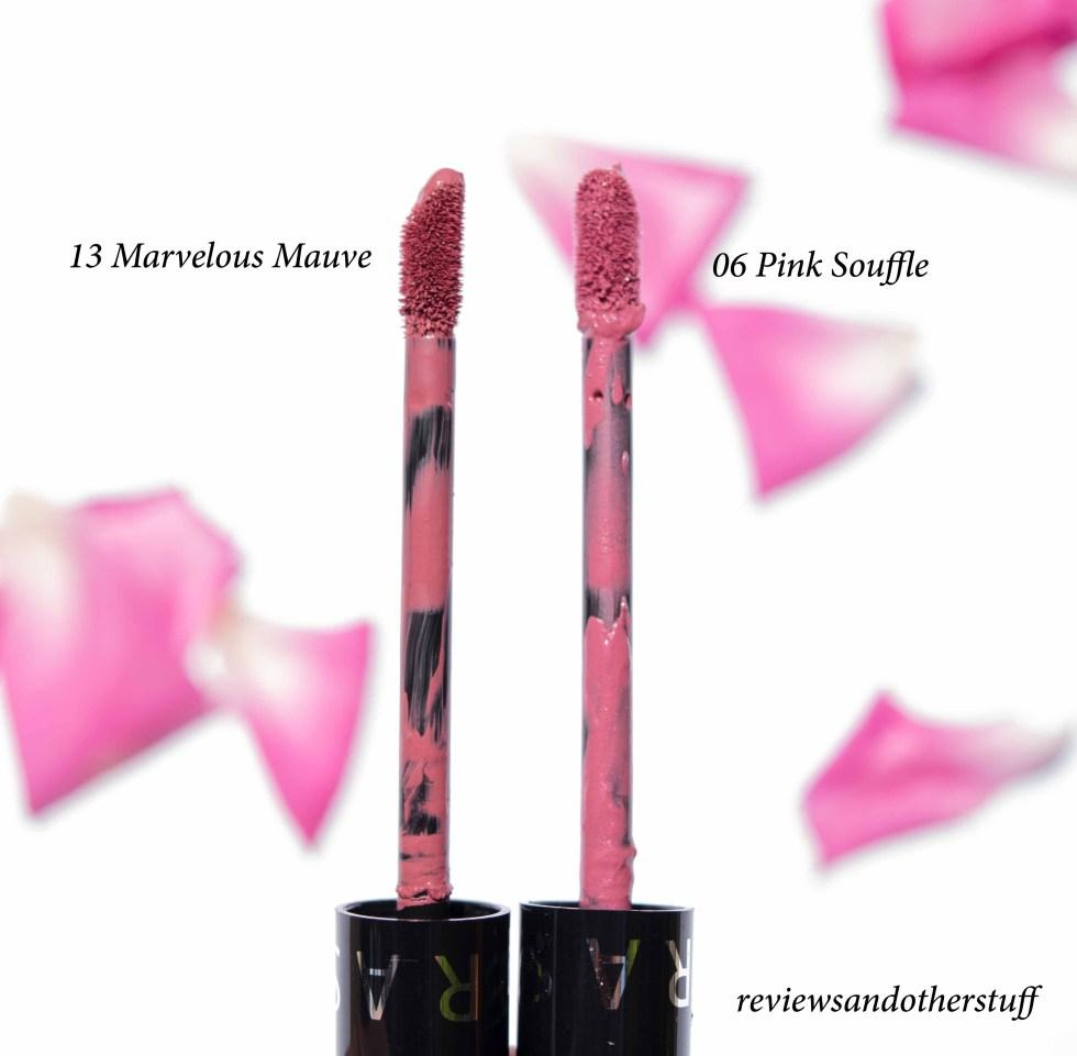 sephora marvelous mauve pink souffle review