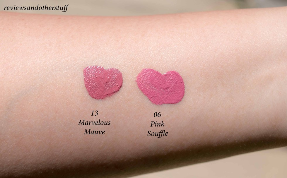 sephora collections cream lip stain in marvelous mauve pink souffle review