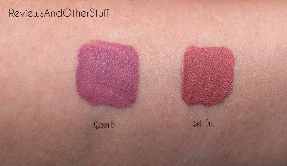 too faced melted matte liquified long wear matte lipstick review in queen b and sell out
