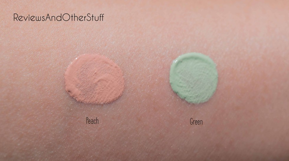 urban decay naked skin color correcting fluid green peach