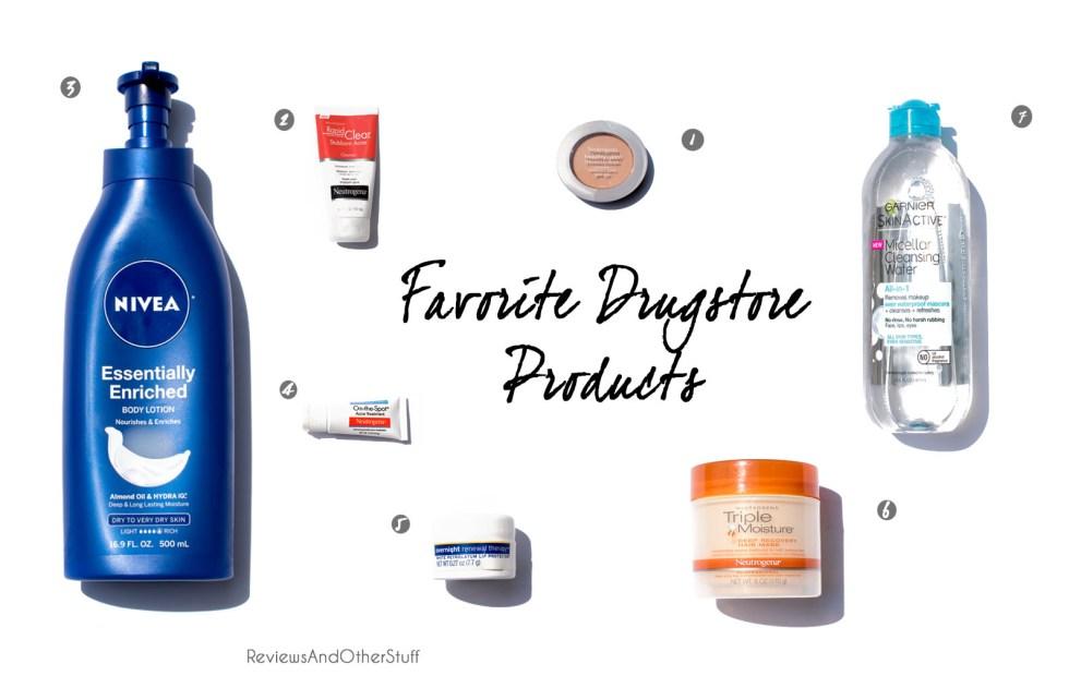 favorite drugstore finds
