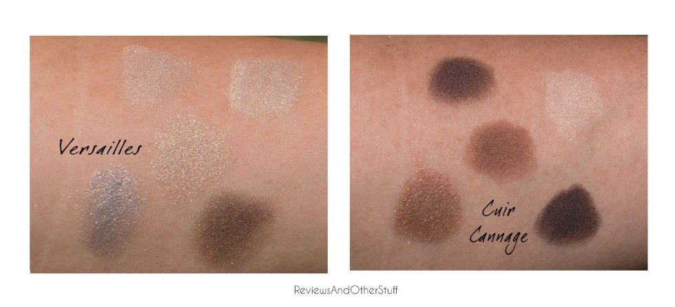 dior 5 couleurs in cuir cannage and versailles