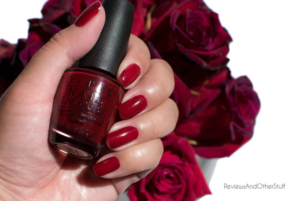 opi nail polish in st petersburgundy