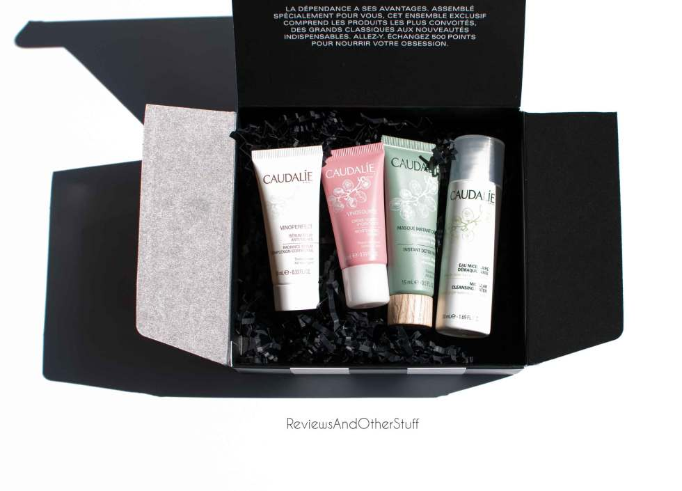 sephora beauty insider 500 points caudalie skin care review