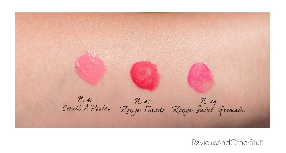 ysl rouge volupte shine oil in stick swatches