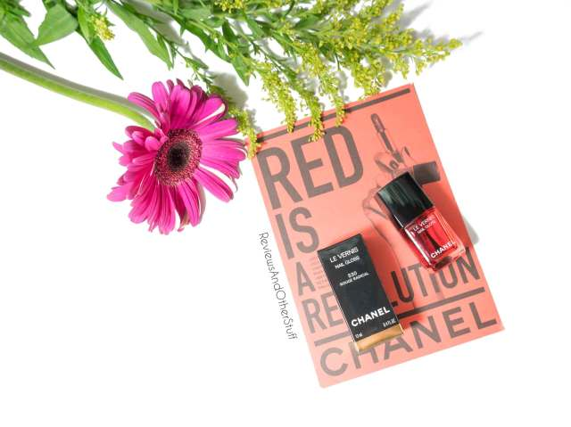 chanel le vernis 530 rouge radical nail gloss