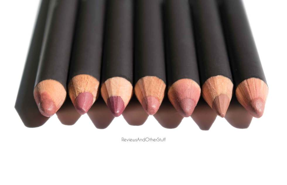 mac lip liners review