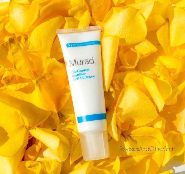 murad mattifier oil in control spf 15 review